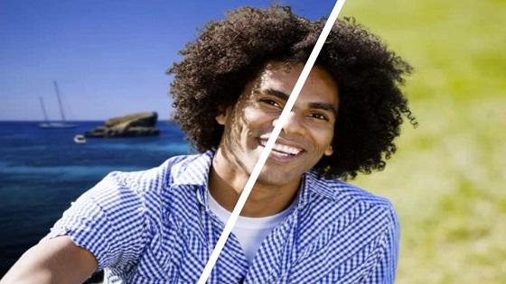 curly hair masking