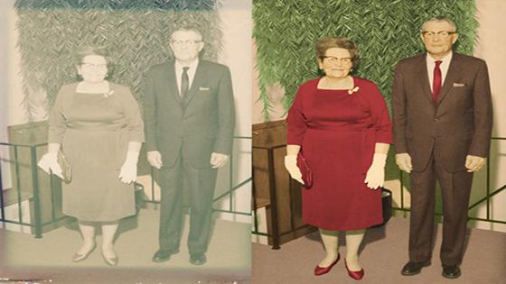 Photo restoration service