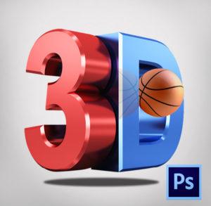 Photoshop 3D tool