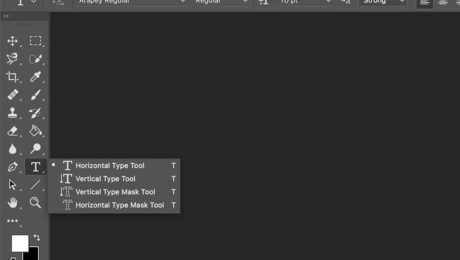 Photoshop Type Tool