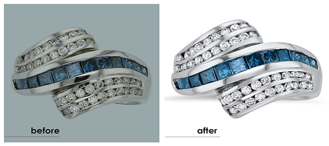 Jewelry Retouching services