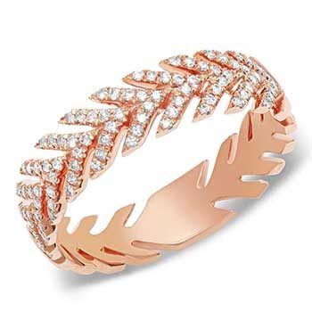 Jewelry retouch rose gold